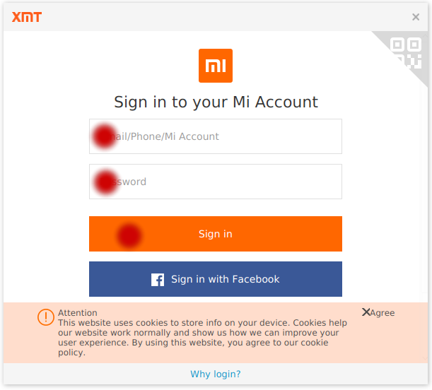 Login to MI-account